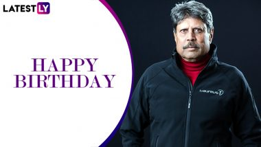 Kapil Dev Birthday Special: Interesting Facts About India's World Cup Winning Captain