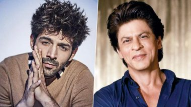 Kartik Aaryan To Team Up With Shah Rukh Khan For An Unusual Love Story: Reports