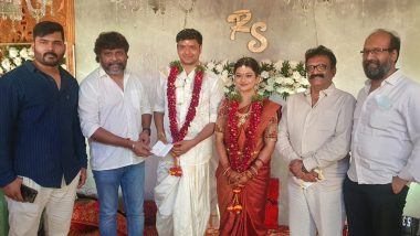 Anandhi, Tamil Cinema's Kayal, Ties The Knot With Assistant Director Socrates In Warangal! (View Pics)