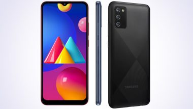 Samsung Galaxy M02s Smartphone Online Sale Scheduled For Tomorrow Via Amazon India