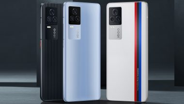 iQOO 7 Smartphone With Snapdragon 888 SoC Launched; Check Prices, Features & Specifications Here