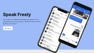 Signal Messaging App Faces Global Outage, Users Express Disappointment After Not Being Able To Send Messages on Mobile and Desktop Apps (Read Tweets)