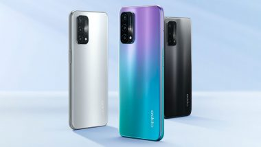 Oppo A93 5G Smartphone With Snapdragon 480 SoC Launched