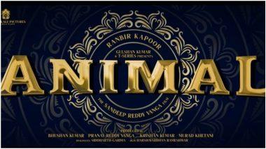 Animal: Ranbir Kapoor and Parineeti Chopra's Film to Release on Dussehra 2022