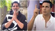 Akshay Kumar's Old Video Dissing 'Money-Wasting' Hindu Rituals Go Viral; Twitterati Calls Out Superstar's Double-Standards After His Recent Plea for Ram Mandir Donation Drive