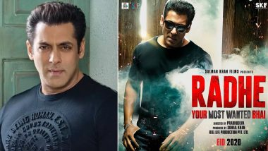 Salman Khan's Actioner Radhe: Your Most Wanted Bhai's Trailer To Be Unveiled in the First Week of April – Reports