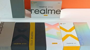 Realme X7, X7 Pro Retail Box Teased Ahead Of Launch; To Get In-Box Charger