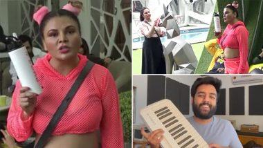Yashraj Mukhate Does It Again! This Time Rakhi Sawant's 'Ye Saandhni' Rant From Bigg Boss 14 Gets a Groovy Twist (Watch Video)