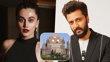 Taapsee Pannu, Riteish Deshmukh React to Bombay HC's 'Groping Without Skin Contact Is Not Sexual Assault' Verdict