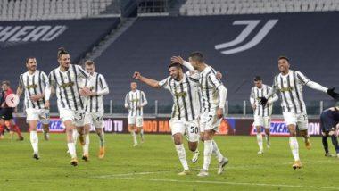 Cristiano Ronaldo Reacts After Juventus Beat Genoa 3-2 in Super Coppa Italia (See Post)