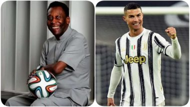 Pele After Cristiano Ronaldo Breaks His Record, Says 'I Admire You a Lot, Regret Not Being Able to Give You Hug Today'