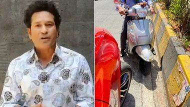 Sachin Tendulkar Urges Citizens To Follow Traffic Regulations At the Start of National Road Safety Week