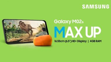 Samsung Galaxy M02s With Snapdragon 450 SoC Launched, Priced in India From Rs 8,999