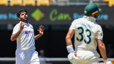 IND 4/0 in 1.5 Overs (Target 328) | India vs Australia 4th Test 2021 Live Score Updates Day 4: Mohammed Siraj Scalps Five-Wicket Haul