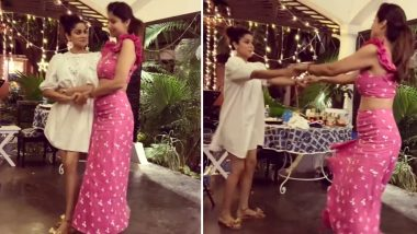 Shilpa Shetty and Sis Shamita Shetty Go Retro As They Groove on 'Badan Pe Sitaare' (Watch Video)