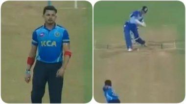 Sreesanth Sledges Yashasvi Jaiswal During Mumbai vs Kerala, Syed Mushtaq Ali Trophy 2020-21, 19-Year-Old Gives a Befitting Reply (Watch Video)