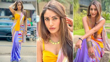 Surbhi Chandna Nails the Colour Block Trend and How! (View Pics)
