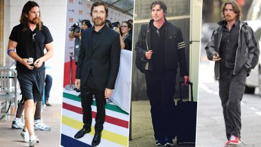 Christian Bale Birthday Special: He Has a Wardrobe That's as Admirable as His Acting Talent (View Pics)