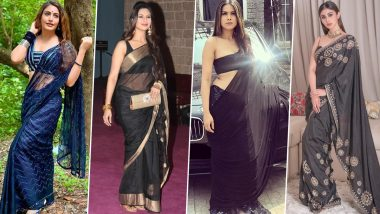 Makar Sankranti 2021: Surbhi Chandna, Mouni Roy and Nia Sharma's Black Outfits That You Can Seek Inspiration From!