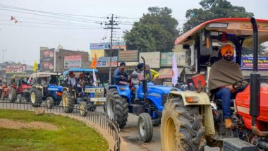 Farmers' Protest: Barricades to Open on January 26 As Delhi Police Gives Permission For Tractor Rally; Farmers Allowed to Enter Upto 100 Km Within National Capital