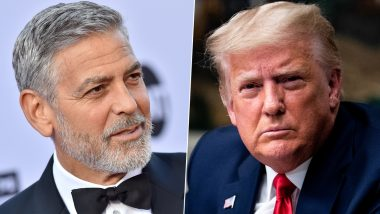 George Clooney Says Capitol Attack Put Donald Trump Family 'Into the Dustbin of History'