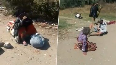 Indore Municipal Workers Caught Dumping Elderly Homeless People on City Outskirts, Dirty Incident of Inhumanity From India's 'Cleanest City' Sparks Outrage (Watch Video)