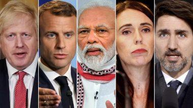 US Capitol Violence: Narendra Modi, Boris Johnson, Jacinda Ardern, Justin Trudeau and Other World Leaders Condemn the Unrest, Express Shock