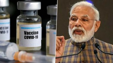 COVID-19 Vaccination Drive Launch in India Live Streaming on DD News: Watch Live Broadcast of PM Narendra Modi Inaugurating World's World's Largest Vaccination Programme
