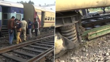 Two Coaches of Shaheed Express Train 04674 Derail at Charbagh Station in Lucknow