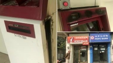 Rajasthan Robbery: Miscreants Manage To Cut ICICI Bank ATM Machine in Bhiwadi, Rob About Rs 6 Lakh Cash