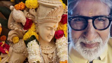 Amitabh Bachchan Gives Sneak Peek into His Vasant Panchami Celebration