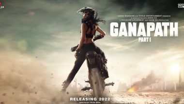 Ganapath Part 1: Tiger Shroff Shares A Glimpse Of His Feisty Heroine! Actress' Look To Be Unveiled On February 10
