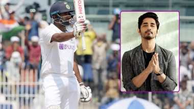 India vs England 2nd Test: Actor Siddharth Lauds Ravi Ashwin's All-Round Performance, Says He Showed England How to Bat and Bowl on Chennai Pitch