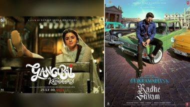 It's Alia Bhatt VS Prabhas! Gangubai Kathiawadi And Radhe Shyam Set To Clash At The Box Office On July 30