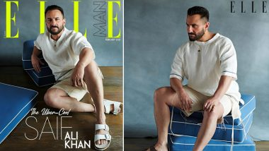 Saif Ali Khan's Uber Cool Avatar Sets The Elle Cover On Fire! (View Pics)