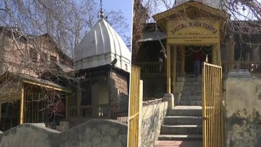 Shital Nath Temple in Srinagar, Closed Due to Militancy, Reopened After 31 Years on Basant Panchami 2021