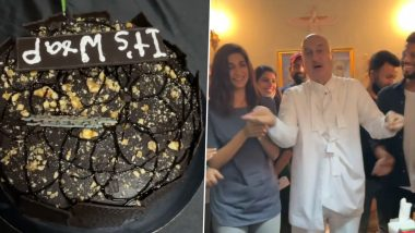 Anupam Kher, Aahana Kumra Wrap Up Shooting of their Upcoming Short Film 'Happy Birthday' (Watch Video)