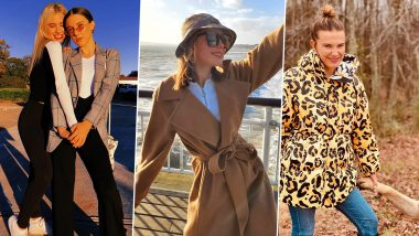 Millie Bobby Brown Birthday: 5 Stylish Pictures of The Stranger Things' Actress That Prove She Loves to Style Coats Into Her Looks (View Pics)