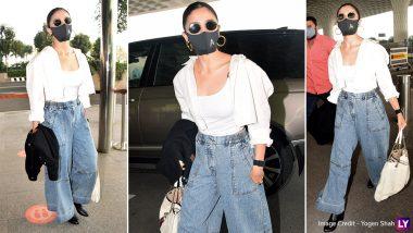 Alia Bhatt's High-Waisted Denim Trousers Scream 'Summers Are Around The Corner!'-View Pics!