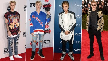 Justin Bieber Birthday Special: Red Suit, Pink Pants, Trust this Canadian To Pull Off Anything (View Pics)