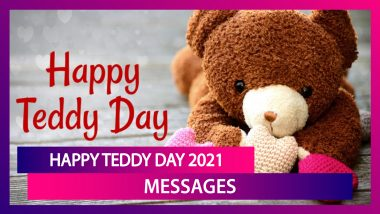 Teddy Day 2021 Greetings, WhatsApp Status, Quotes, Photos and Messages To Wish Your Baby Boo