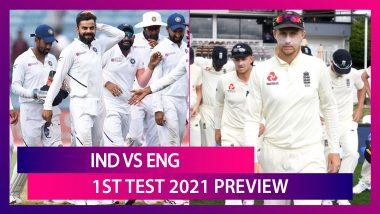 IND vs ENG, 1st Test 2021 Preview & Playing XIs: Virat Kohli And Co Look For Winning Start