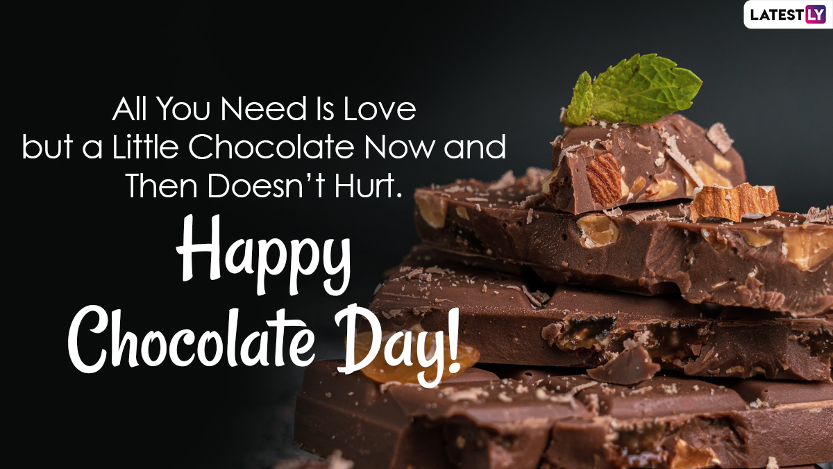 World Chocolate Day 2021 Hd Images Wishes Love Greetings Chocolate Dipped Quotes Pics Gifs Whatsapp Stickers And Messages For The Sweetest People Latestly Gif whatsapp happy chocolate day 2021