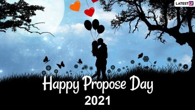 Propose Day 2021 Images & HD Wallpapers For Free Download Online: WhatsApp Stickers, Greetings, GIF Messages, SMS & Wishes to Show True Love