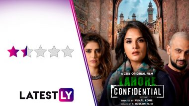 Lahore Confidential Movie Review: Richa Chadha and Arunoday Singh's Spy Thriller is Confused and Bland (LatestLY Exclusive)