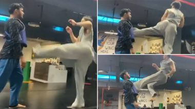 Tiger Shroff's High-Impact 'Killer Kick' Will Make You Go WOW In A Jiffy! Watch Video