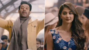 Radhe Shyam Teaser On Valentine's Day: Prabhas Professes His Love For Pooja Hegde In Italian Style! Film To Release In Theatres On July 30 (Watch Video)