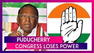 Puducherry: Congress Loses Power, Chief Minister V Narayanasamy Resigns, Blames BJP