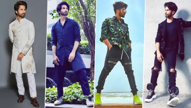 Shahid Kapoor Birthday Special: A Look at His 'Swag'tastic Appearances!