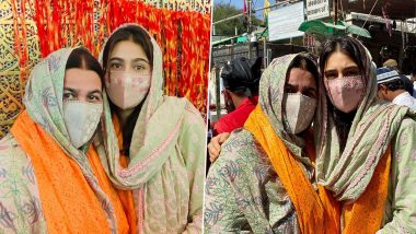 Sara Ali Khan Pays Visit to Ajmer Sharif Dargah with Mother Amrita Singh, Says 'Jumma Mubarak'